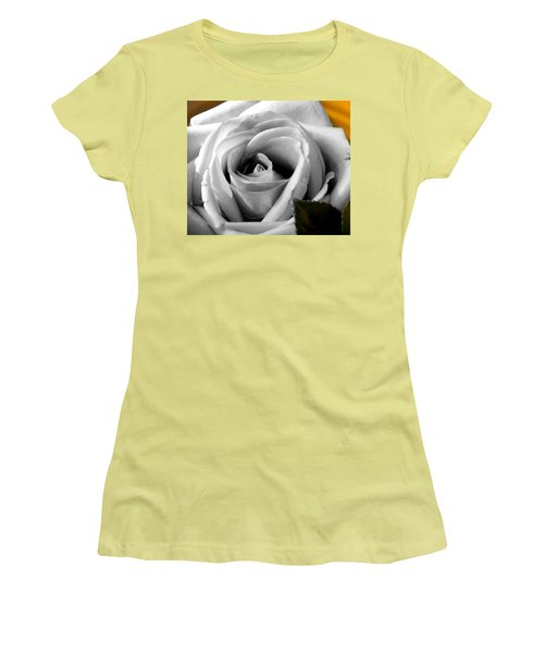 White Rose 2 Women's T-Shirt (Junior Cut)