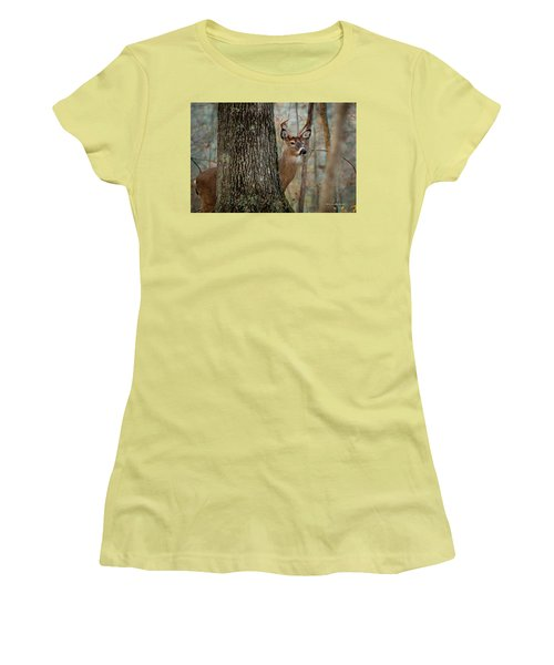 Whitetail #31 Women's T-Shirt (Athletic Fit)