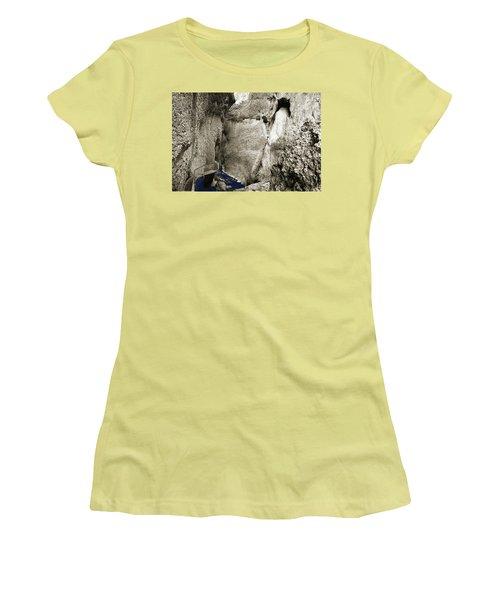 Whitewater Too Blu Women's T-Shirt (Junior Cut)