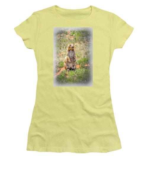 Who Dat? Women's T-Shirt (Junior Cut) by Mark Dunton
