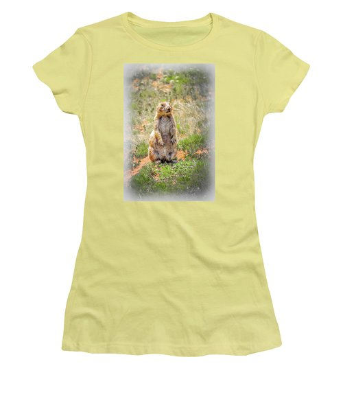 Who Dat? Women's T-Shirt (Athletic Fit)