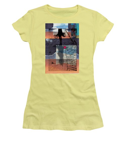 Women's T-Shirt (Junior Cut) featuring the photograph Who Doesn't Stop Till Dawn by Danica Radman