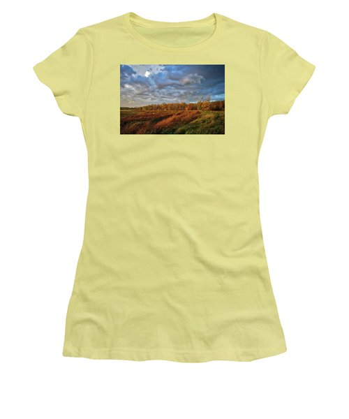 Who Has Seen The Wind? Women's T-Shirt (Junior Cut) by Keith Boone