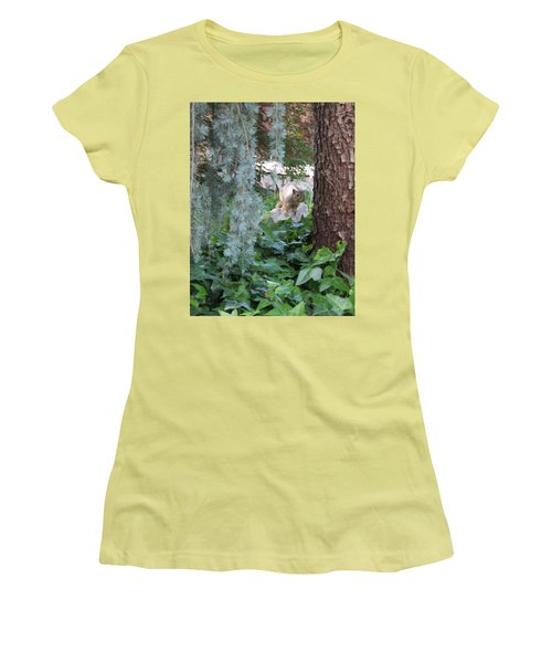 Women's T-Shirt (Junior Cut) featuring the photograph Whoa Nellie by Marie Neder