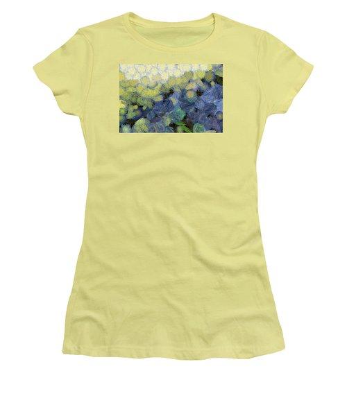 Whorls And More Whorls Women's T-Shirt (Junior Cut)
