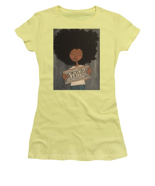 Why Women's T-Shirt (Athletic Fit)