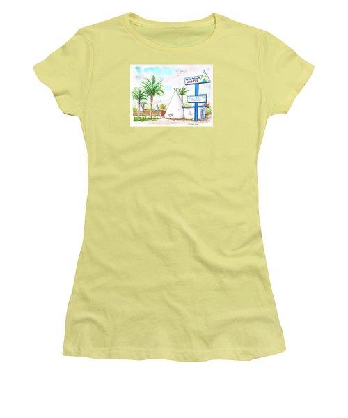 Wigman Motel, Route 66, San Bernardino, Ca Women's T-Shirt (Junior Cut) by Carlos G Groppa