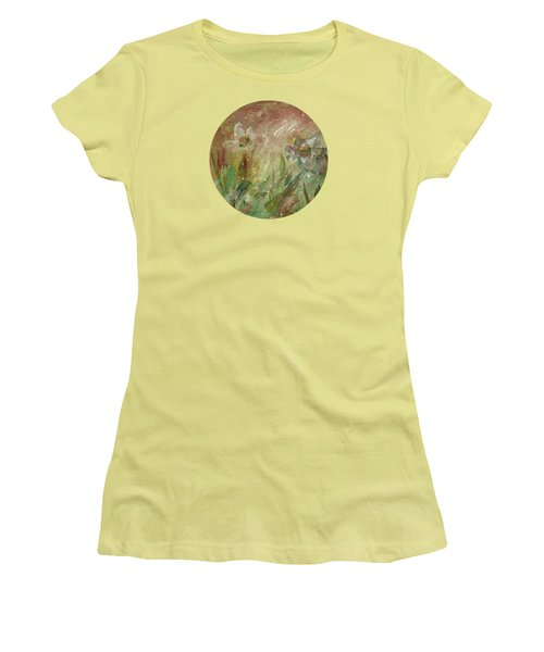 Wil O' The Wisp Women's T-Shirt (Junior Cut) by Mary Wolf