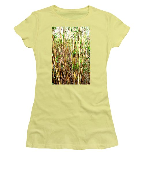 Wild Bamboo Women's T-Shirt (Athletic Fit)
