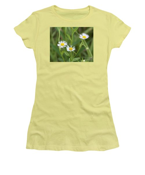 Wild Flower Sunny Side Up Women's T-Shirt (Athletic Fit)