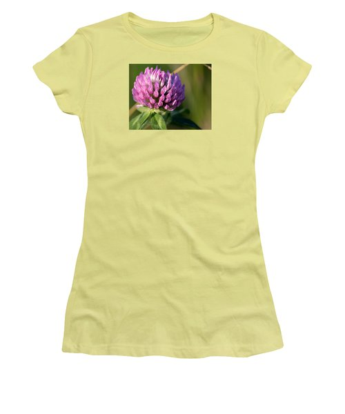 Wild Flower Bloom  Women's T-Shirt (Athletic Fit)