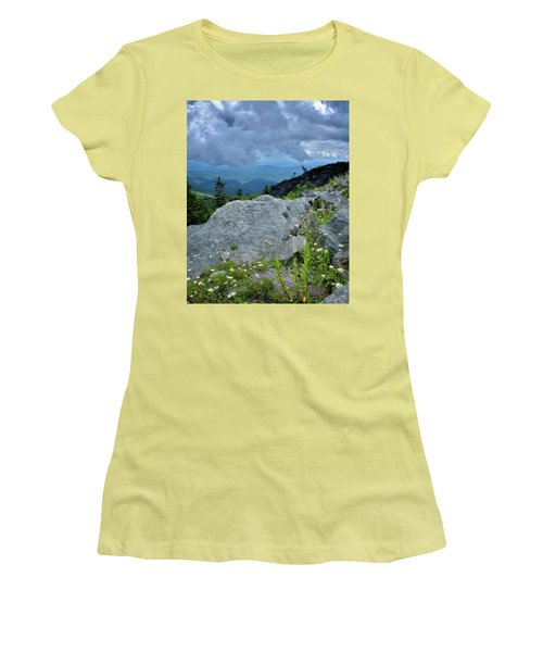 Wild Mountain Flowers Women's T-Shirt (Athletic Fit)