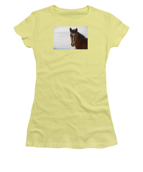 Wild Mustang Yearling Women's T-Shirt (Athletic Fit)