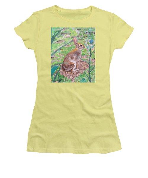 Wild Rabbit Women's T-Shirt (Athletic Fit)