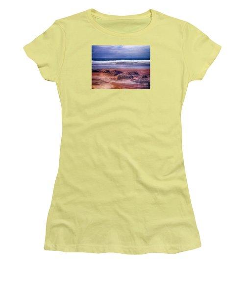 Sand Coast Women's T-Shirt (Junior Cut) by Juergen Klust