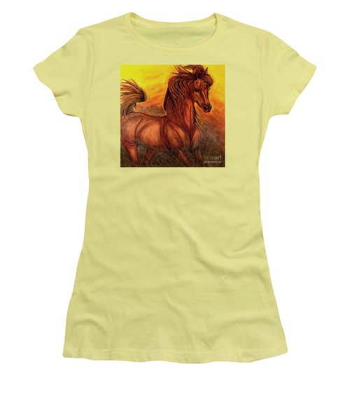 Wild Spirit Women's T-Shirt (Athletic Fit)