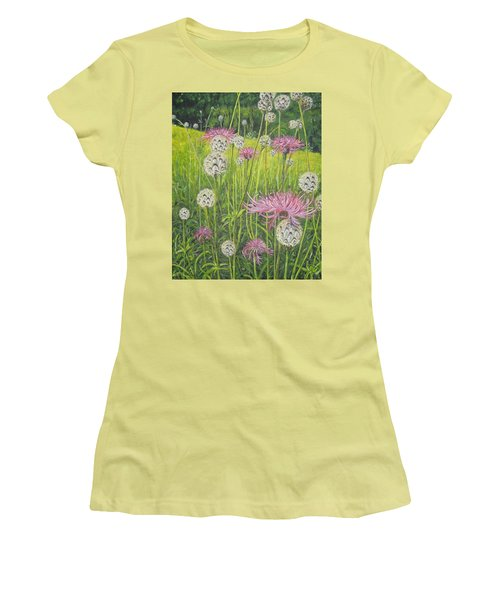 Wild Thistles Women's T-Shirt (Athletic Fit)