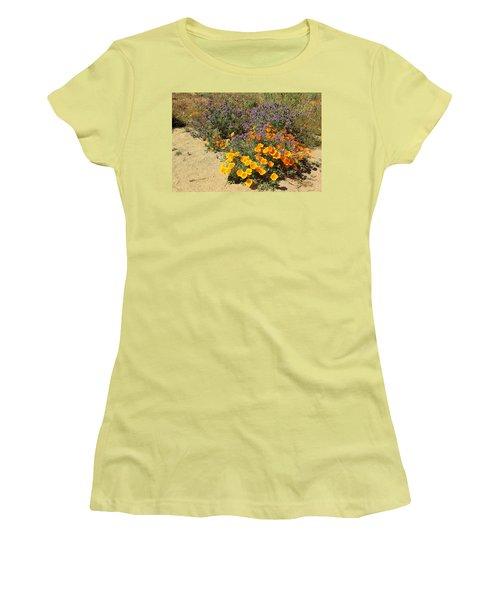 Wildflowers In Spring Women's T-Shirt (Junior Cut) by Viktor Savchenko
