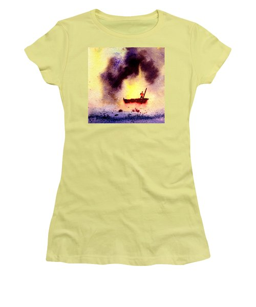 Will Power Women's T-Shirt (Junior Cut) by Anil Nene