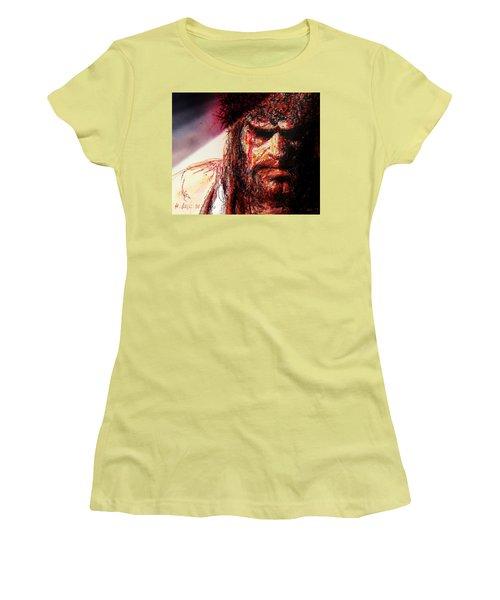 Willem Dafoe - Actor Women's T-Shirt (Junior Cut) by Hartmut Jager
