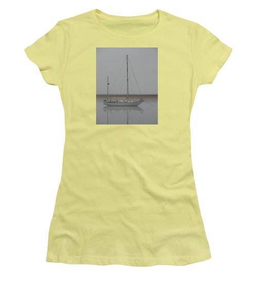Women's T-Shirt (Junior Cut) featuring the photograph Wind Fall by Laura Ragland