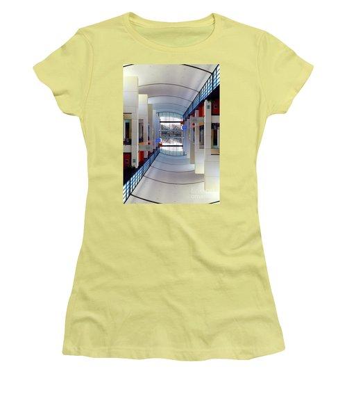 Women's T-Shirt (Junior Cut) featuring the photograph Windows by Brian Jones