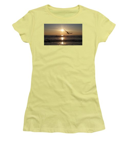 Wings Of Sunrise Women's T-Shirt (Junior Cut)