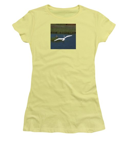 Wingspan Women's T-Shirt (Junior Cut) by Suzanne Gaff
