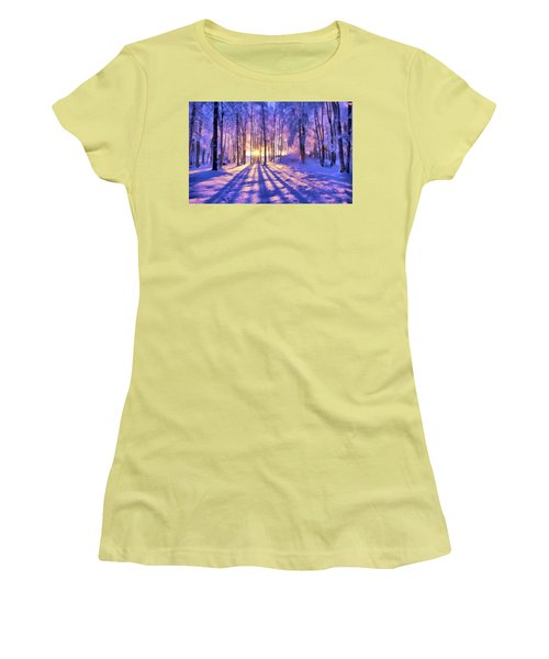 Winter Fairy Tale Women's T-Shirt (Athletic Fit)
