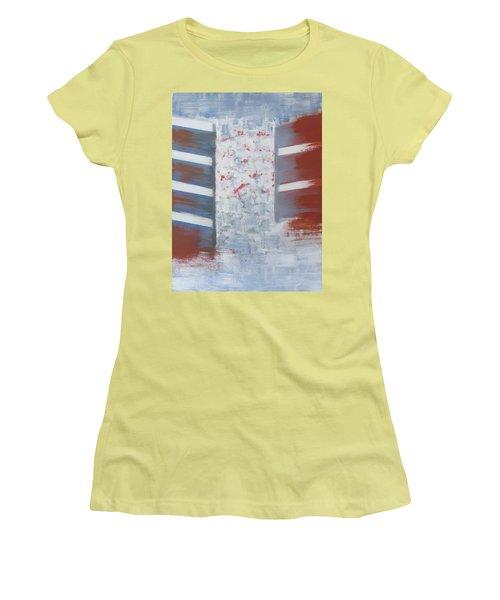 Winter In Chernogolovka Women's T-Shirt (Junior Cut) by Tamara Savchenko
