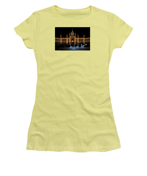 Winter In Tivoli Gardens Women's T-Shirt (Junior Cut)