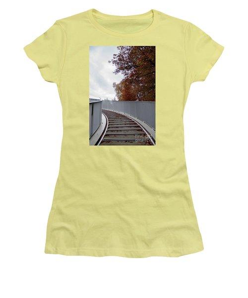 Winter Is Around The Corner Women's T-Shirt (Junior Cut) by Ana Mireles