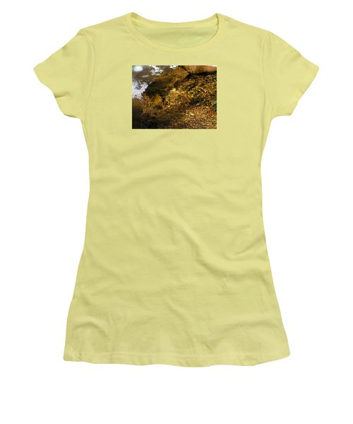 Winter Leaving Women's T-Shirt (Athletic Fit)
