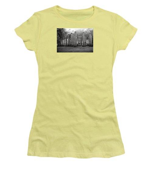 Winter Ruins Women's T-Shirt (Junior Cut) by Scott Hansen