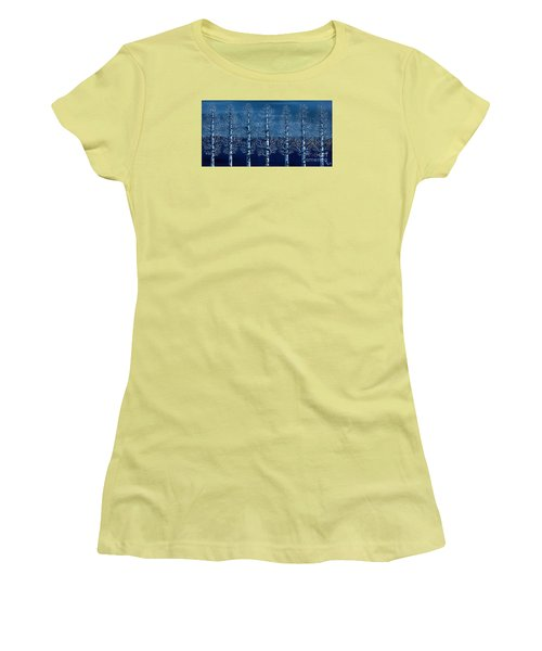 Winter Shadows Women's T-Shirt (Junior Cut) by Rebecca Parker