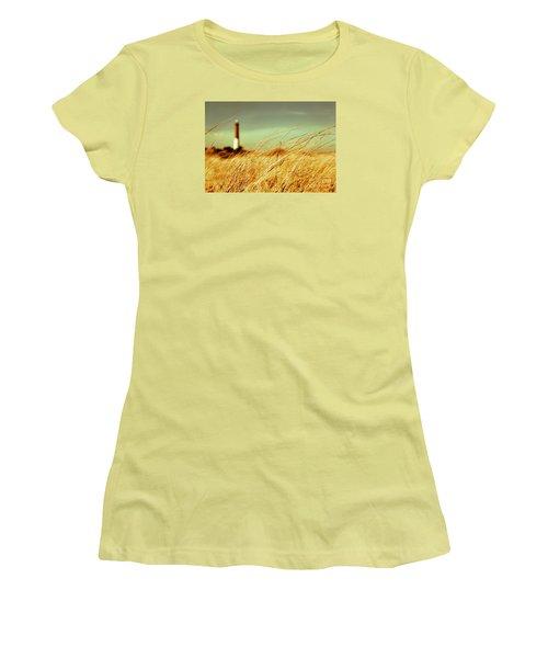 Winter Shore Breeze Women's T-Shirt (Junior Cut) by Dana DiPasquale