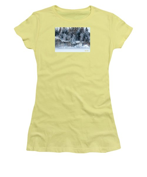 Winter Shore Women's T-Shirt (Athletic Fit)