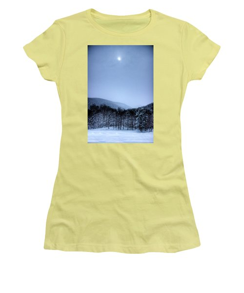 Winter Sun Women's T-Shirt (Junior Cut) by Jonny D