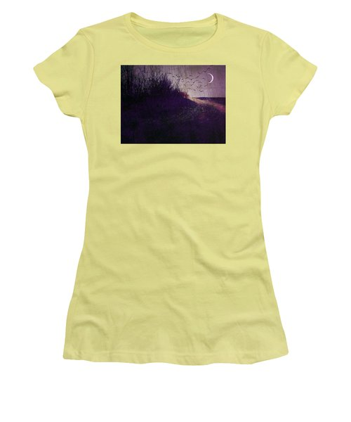 Winter To Spring The Promise Of New Life. Women's T-Shirt (Junior Cut) by Michele Carter