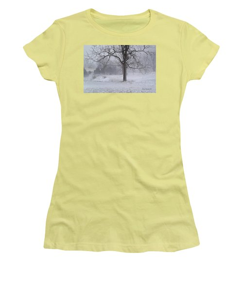 Winter Walnut Women's T-Shirt (Athletic Fit)
