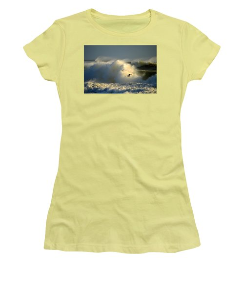 Winter's Passing Women's T-Shirt (Athletic Fit)