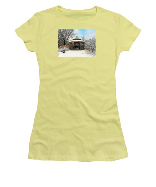 Wintertime Women's T-Shirt (Junior Cut) by Teresa Schomig