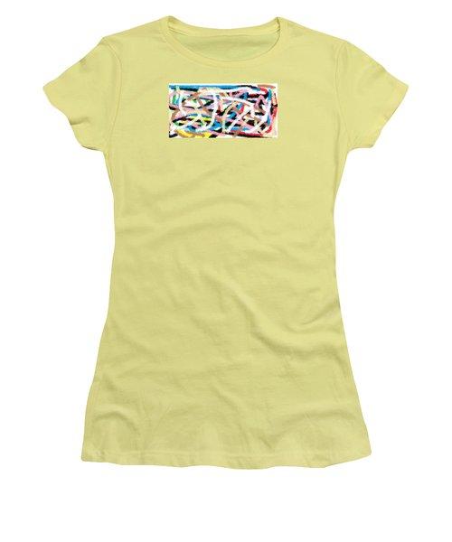Wish - 17 Women's T-Shirt (Junior Cut) by Mirfarhad Moghimi