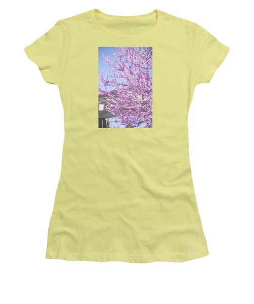 With Exuberance Women's T-Shirt (Athletic Fit)
