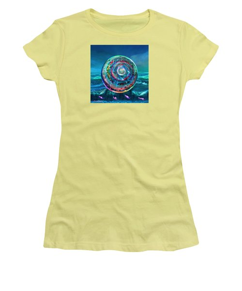 Withstanding Orby Weather Women's T-Shirt (Athletic Fit)