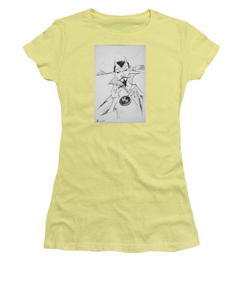 Wm Blue Devils Sign Women's T-Shirt (Athletic Fit)