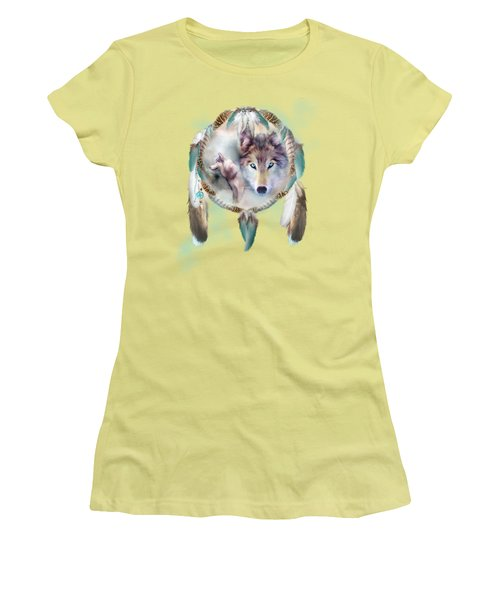Wolf - Dreams Of Peace Women's T-Shirt (Athletic Fit)