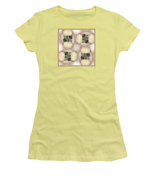 Women's T-Shirt (Junior Cut) featuring the photograph Woman Image Six by Jack Dillhunt
