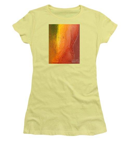Woman In Window Light Women's T-Shirt (Athletic Fit)