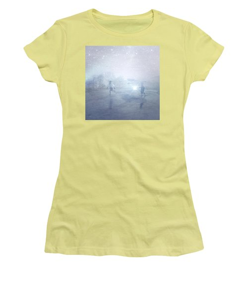 Wonder On A Starry Night Women's T-Shirt (Athletic Fit)